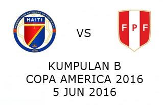 Live Streaming Keputusan Haiti Vs Peru 5 Jun 2016