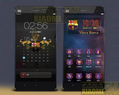 Kumpulan Tema MIUI Football Klub Barca Themes Mtz For Xiaomi