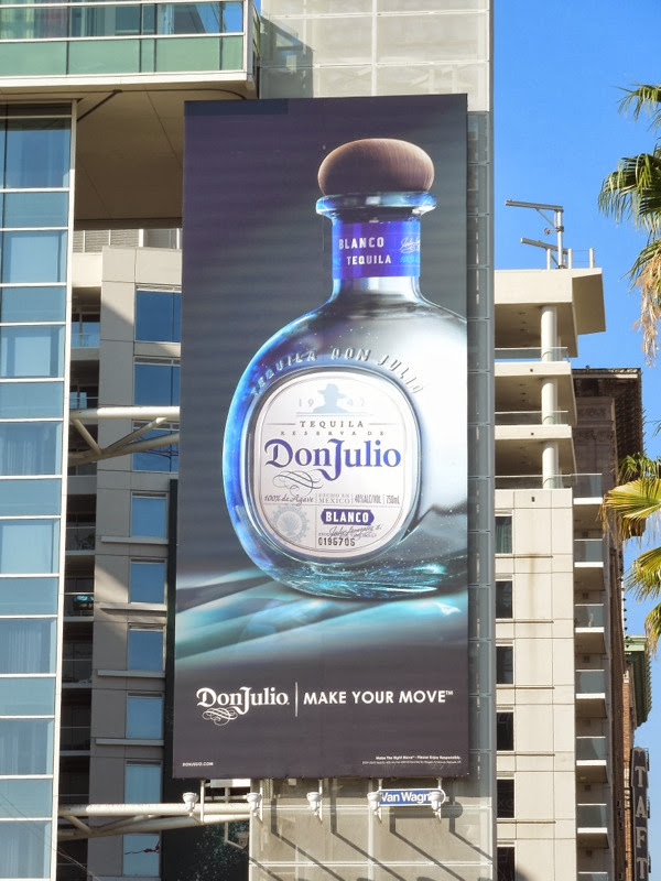 Don Julio Tequila Make Your Move billboard