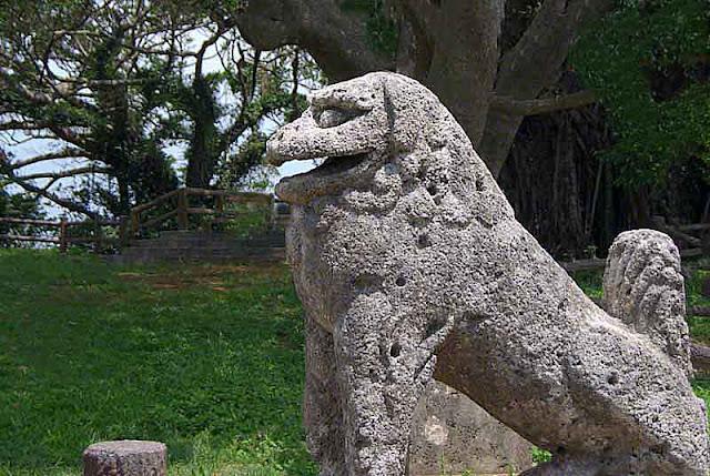 Shisa, stone lions, legend, travel, history, Okinawa