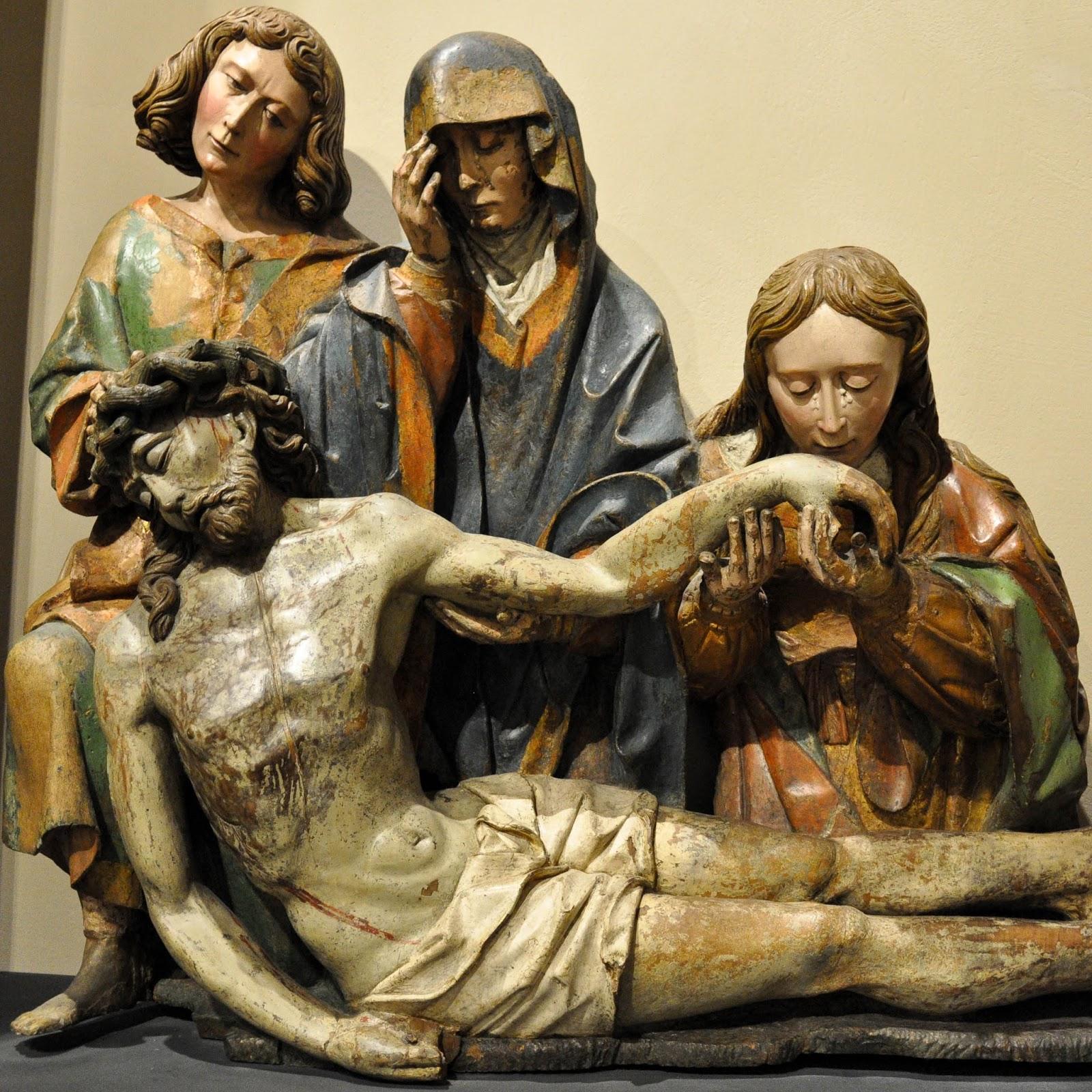 Sculpture 1510-1520, Antique Art Museum, Palazzo Madama, Turin, Italy