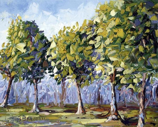 pendidikan seni visual Melukis dan Mewarna Pokok