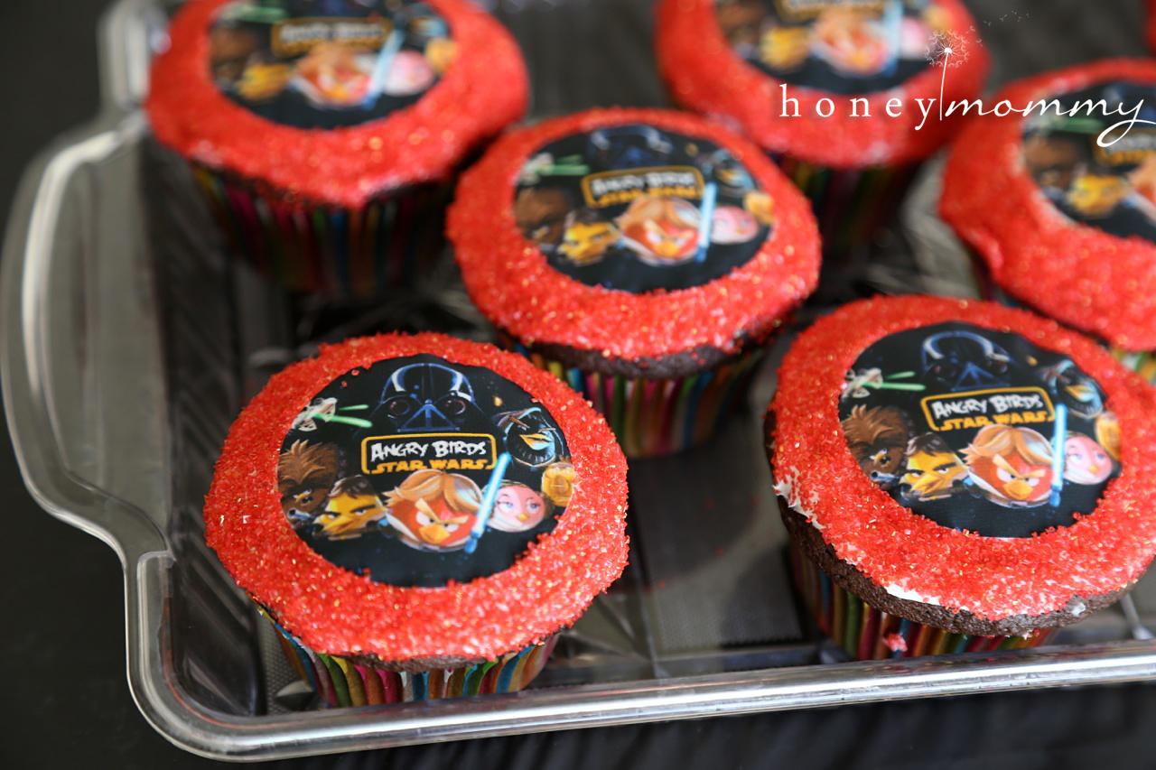 Honey Mommy Angry Birds Star Wars Birthday Party