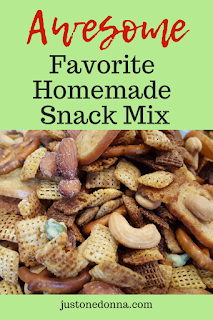 My Favorite Homemade Chex Mix