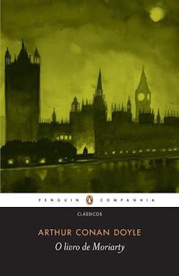 O livro de Moriarty, de Arthur Conan Doyle - Editora Companhia das Letras