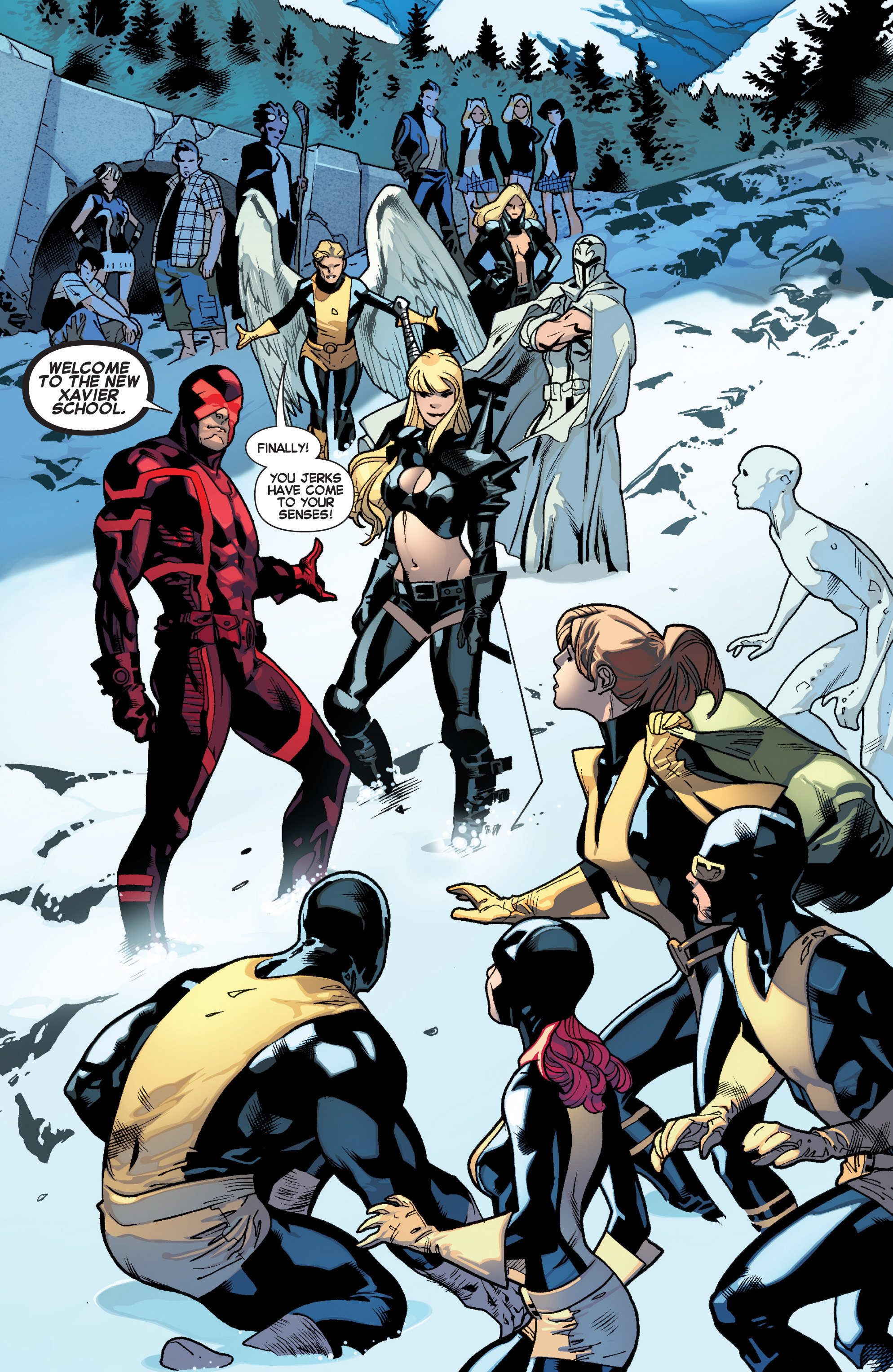 Read online All-New X-Men (2013) comic -  Issue # _Special - All-Different - 6