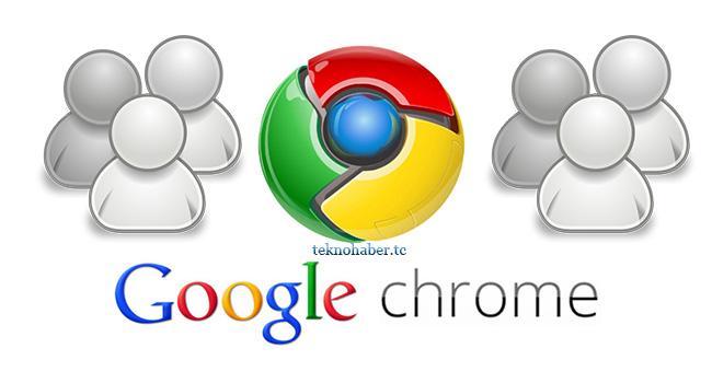 Google Chrome'u Ortak Kullanım İçin Ayrı Açın
