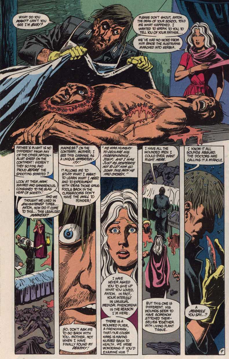 Swamp Thing (1982) Issue #83 #91 - English 9