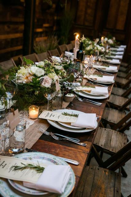 Elegir y reservar el lugar del banquete de la boda - Foto: www.heyweddinglady.com