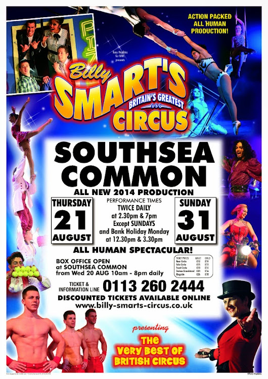 Rollercoaster Mum: Billy Smart's Circus is coming to Town!