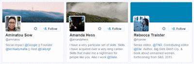 Optimized Twitter Profile
