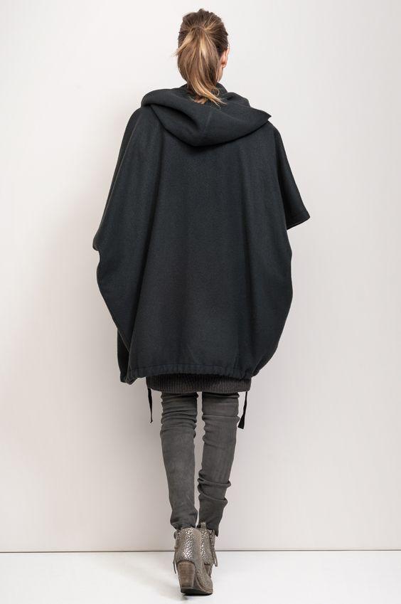 Cool pregnancy style - humanoid oversized jacket
