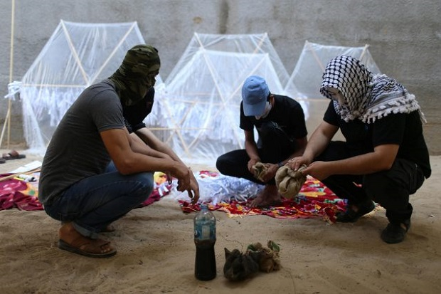 Eks Bos Shin Bet Israel: Layang-layang Api Palestina Bisa Picu Perang