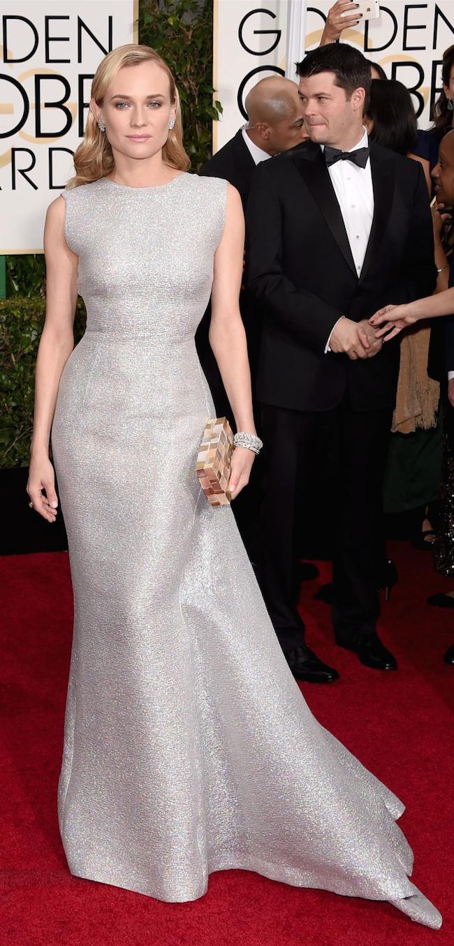 Diane Kruger 2015 Golden Globe Awards