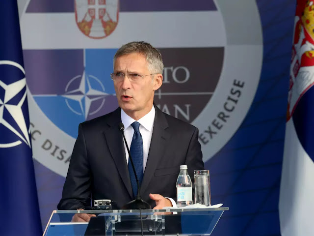 Nuclear build up unlikely despite missile dispute: NATO chief