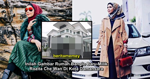 Inilah Gambar Rumah Banglo Baru Milik Rozita Che Wan Di Kota Damansara