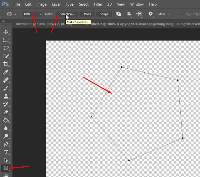 Tips Membuat Seleksi Gambar pada Photoshop