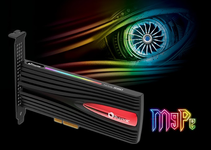Plextor Launches Gaming PCIe SSD with M9Pe Series
