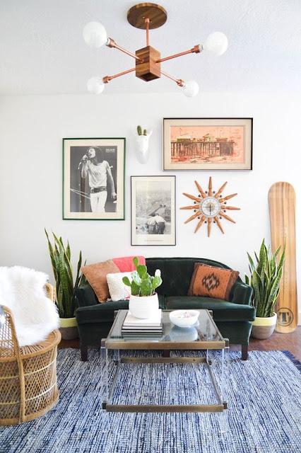 Кактус в гостиной или зеленый винтаж!