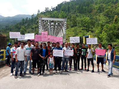 Tourist awareness rally by jogighat haat samity may day