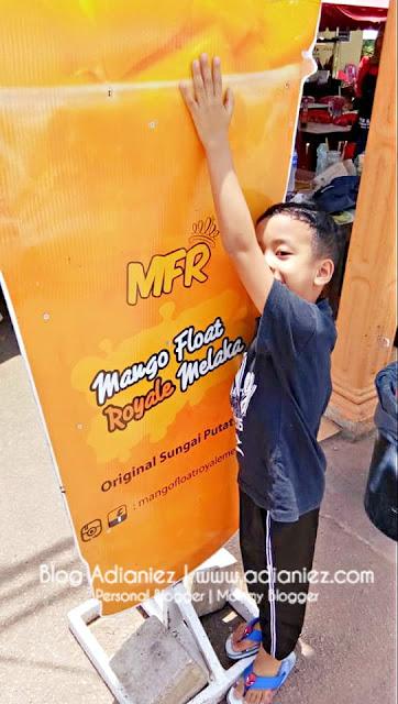 Nyaman Tekak Dengan Mango Float Royale Melaka