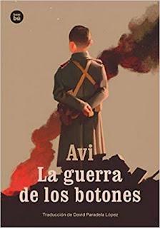 Libro juvenil La guerra de los botones de Avi, bambú editorial
