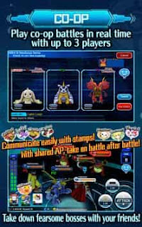 Digimon Linkz MOD Apk Data Obb English - Free Download Android Game