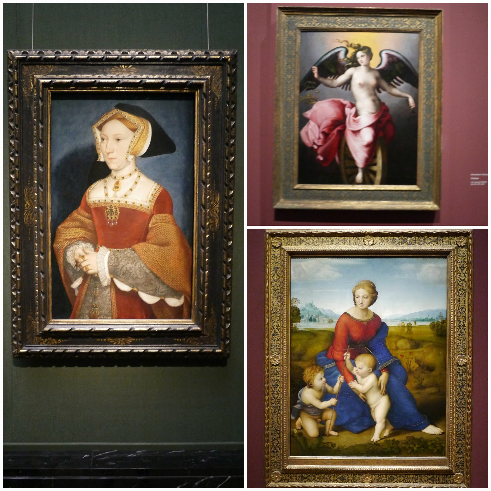 Kunsthistorisches holbein raphael and michelangelo paintings