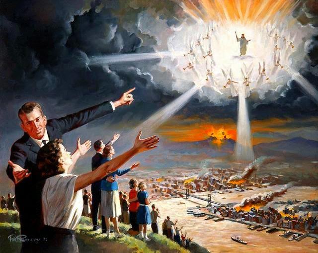 Visões do Arrebatamento, Tribulação, da Cidade Santa, e dos Tronos de DEUS e satanás.