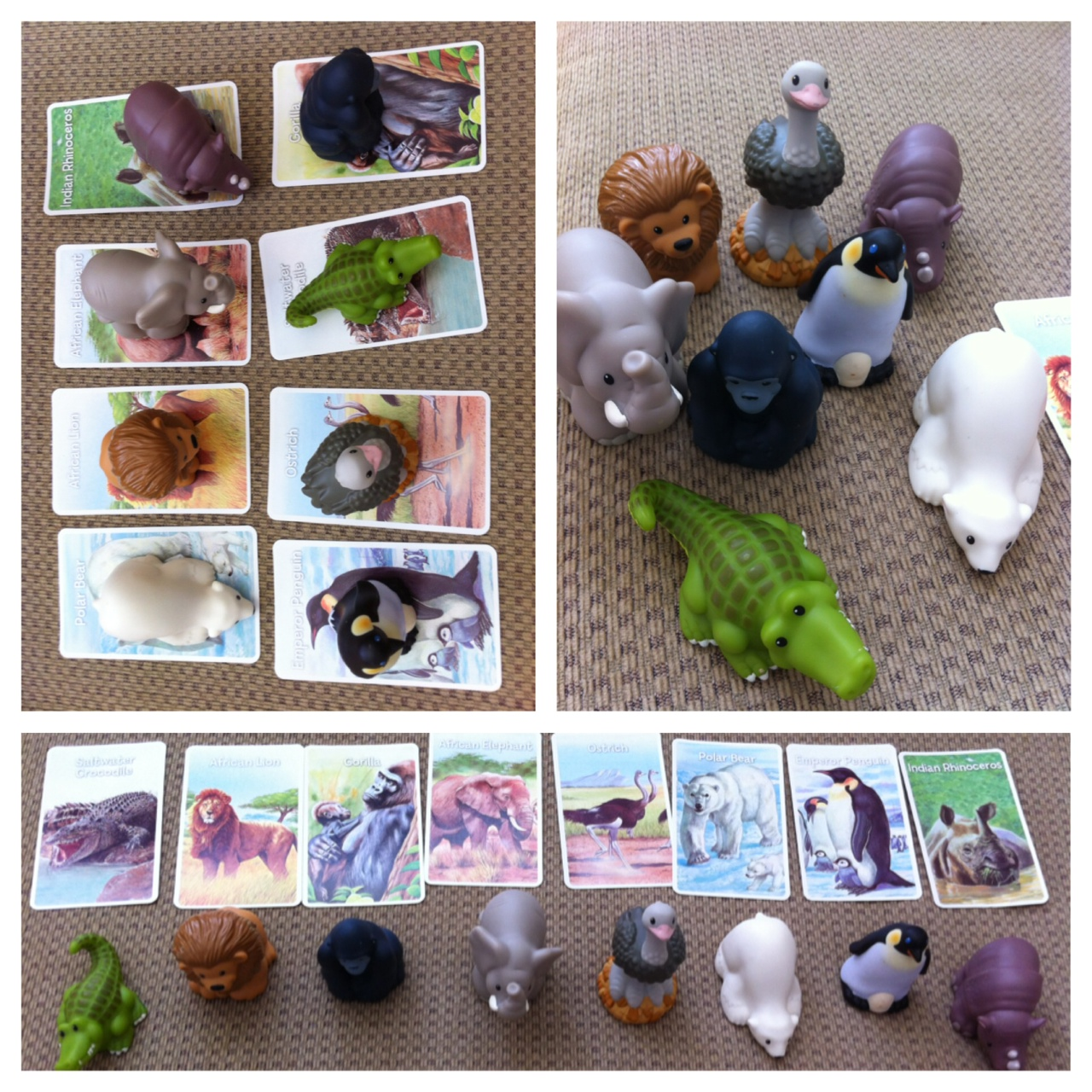Animal Matching Activity For Toddler