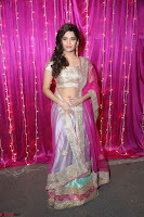 Ritika Sing in Golden Pink Choli Ghagra Cute Actress Ritika Sing ~  016.JPG