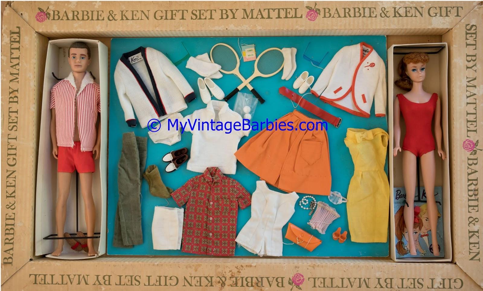 29b2bd80640dd My Vintage Barbies Blog: Barbie of the Month: Barbie and Ken (Tennis ...