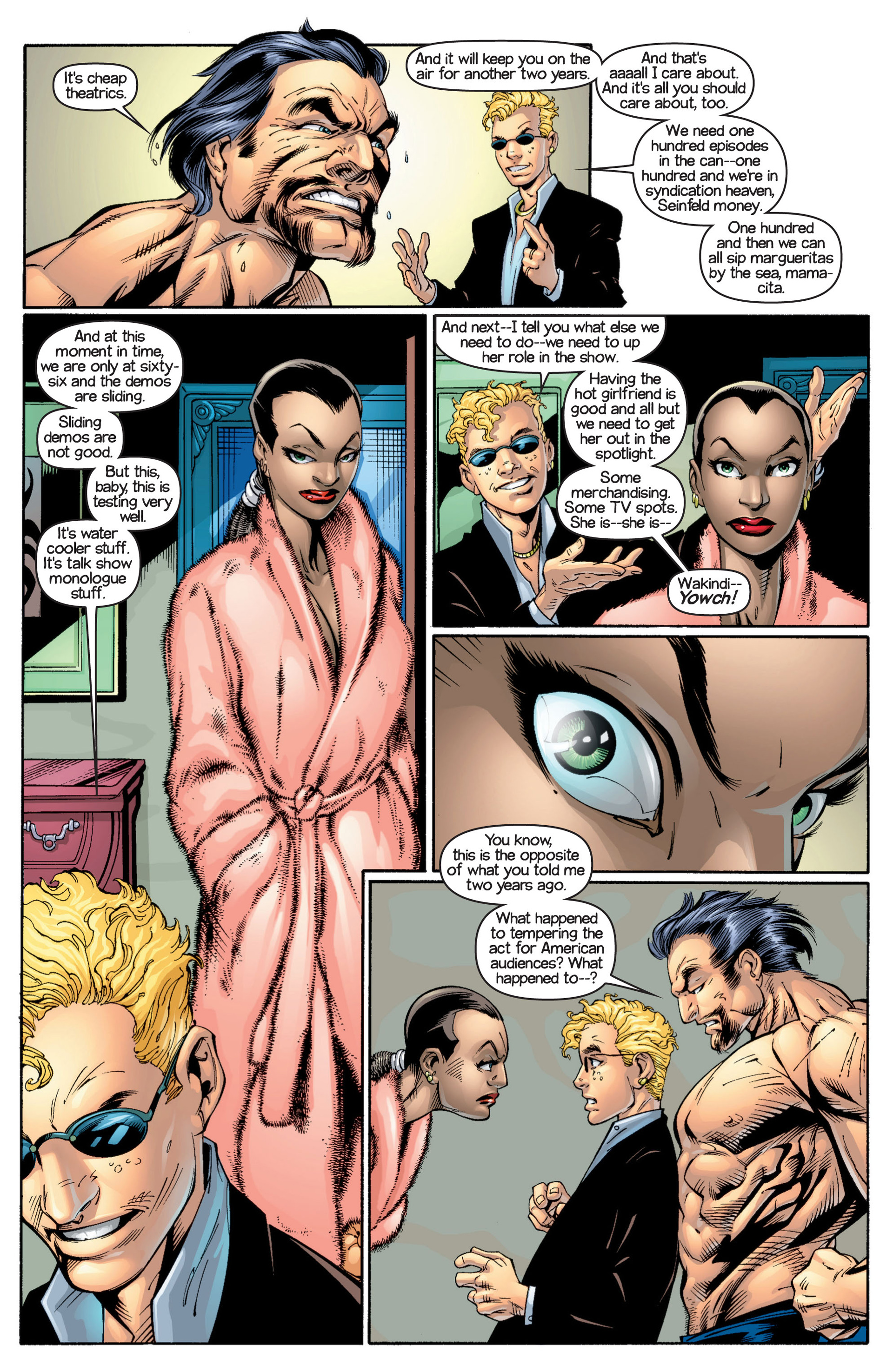 Read online Ultimate Spider-Man (2000) comic -  Issue #17 - 4