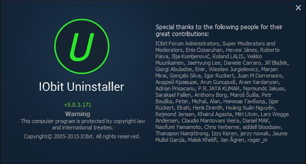 โหลดโปรแกรม IObit Uninstaller 5