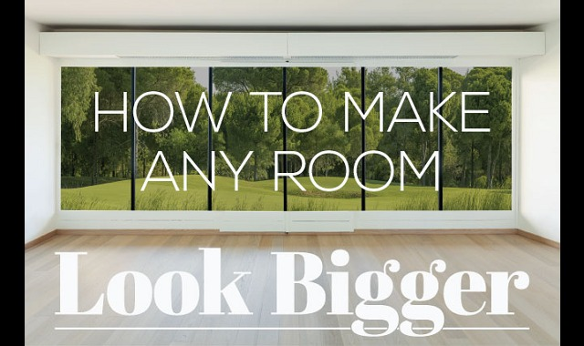 How to make any room look bigger infographic visualistan - How to make your room look bigger ...