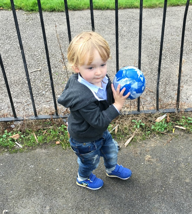 toddler-with-a-football