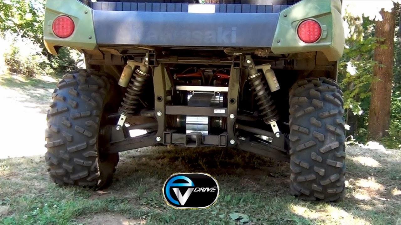 EVDrive Demo a UTV with 4-Wheel Motor Torque Vectoring