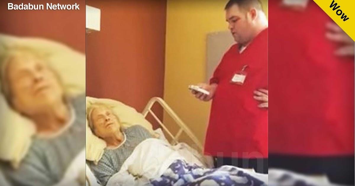 música maestra anciana enfermero canto