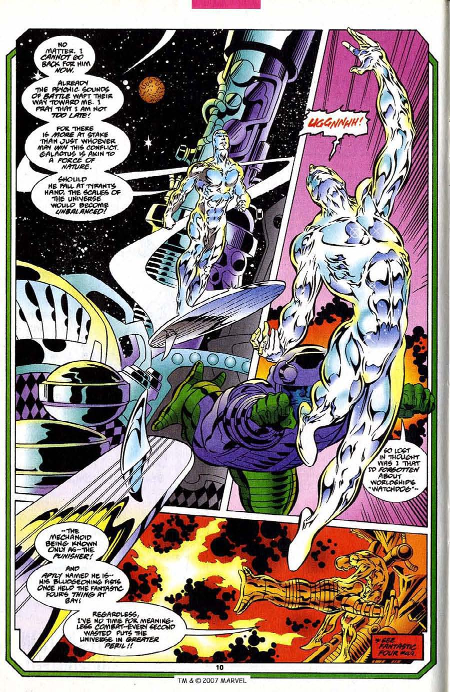 Silver Surfer (1987) Issue #109 #117 - English 12