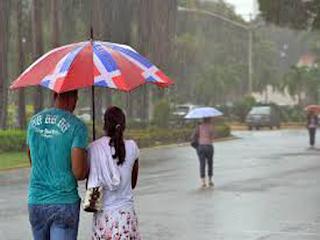 ONAMET informa que continúan en alerta tres provincias por incidencia de una vaguada