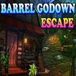 Games4King Barrel Godown Escape