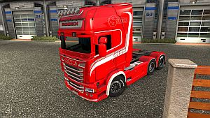 Gronback skin for Scania RJL by #Borce