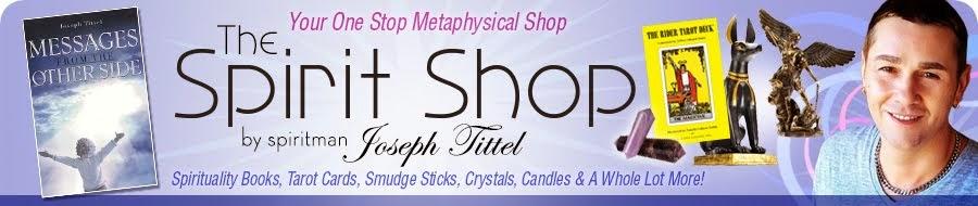 Psychic Medium & Author Spiritman Joseph Tittel: Magical