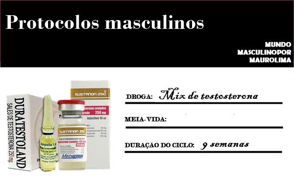 Anabolics #22 Ciclo De Durateston - Mix De Testosterona (Massa/Médio)