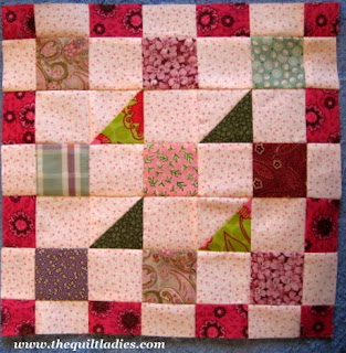 How to make a Church Window Quilt Block