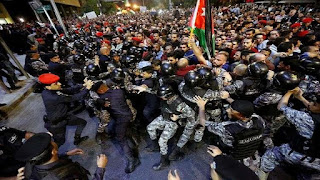 Renewed protests in the Kingdom of Jordan against increase taxes