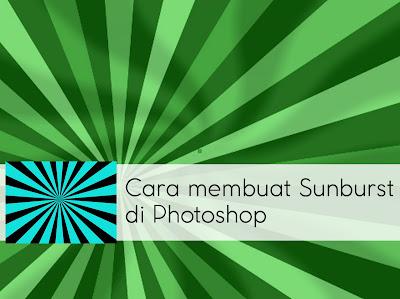 Cara membuat Sunburst dengan cepat di Photoshop - COver