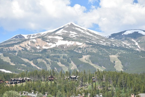 Breckenridge, CO mountain peaks