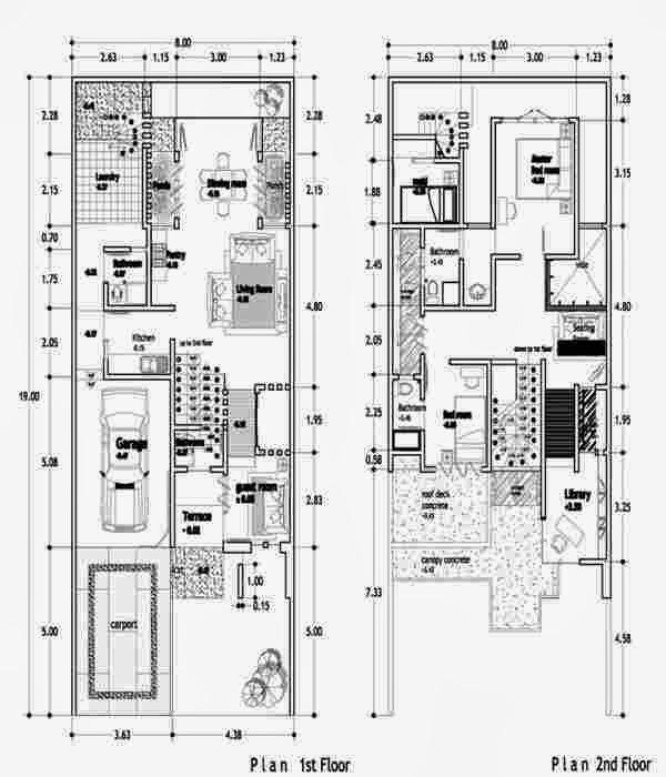 Image Result For Desain Rumah Modern Minimalis Satu Lantai