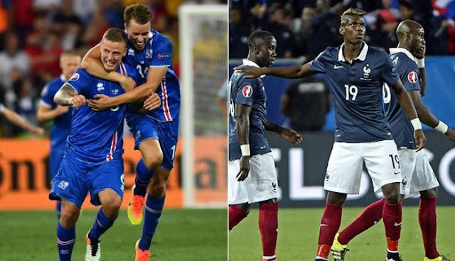 Francia vs Islandia en vivo Eurocopa 2016